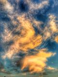 Nubi nel cielo Fotografia Stock Libera da Diritti