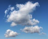 Nubi nel cielo blu Immagine Stock Libera da Diritti