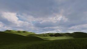 Nubi nella valle archivi video