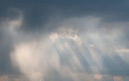 Nubi piovose Immagini Stock