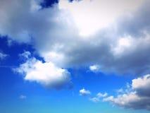 Nubi qui sopra Fotografia Stock Libera da Diritti