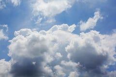 Nubi scure Immagine Stock Libera da Diritti