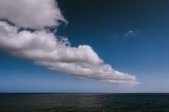 Nubi sopra Atlantico Fotografia Stock Libera da Diritti