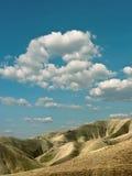 Nubi sopra il deserto. Fotografia Stock Libera da Diritti