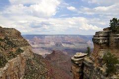 Nubi sopra il grande canyon Fotografie Stock Libere da Diritti