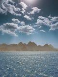 Nubi sopra il Mar Rosso Immagine Stock Libera da Diritti