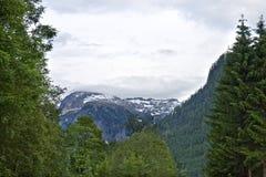 Nubi sopra le alpi Immagini Stock Libere da Diritti