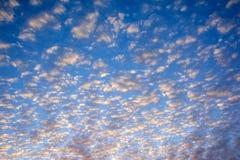 Nubi sul cielo Fotografie Stock