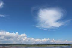 Nubi sull'orizzonte Immagini Stock Libere da Diritti