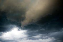 Nubi tenebrose Fotografia Stock Libera da Diritti