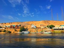 Nubia in Aswan Stock Images