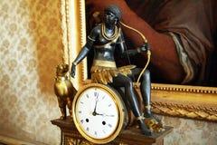 Nubian clock Stock Photo