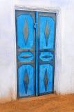 Nubian-Haus-Tür stockfotos
