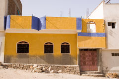 Nubian house Stock Photo