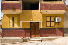 Nubian house Stock Photography