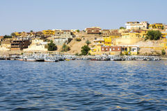 Nubian traditional village, lake Nasser, Egypt Stock Photo