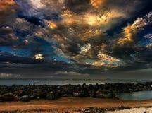 nubla-se Marrocos foto de stock royalty free