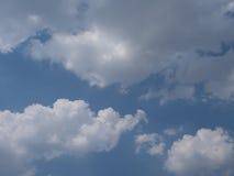 Nubla-se o céu Foto de Stock