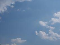 Nubla-se o céu Fotografia de Stock