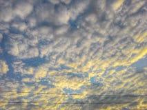 nublado Foto de archivo libre de regalías