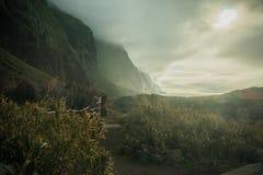 Nublado con una ocasión de rayos de sol Fotografía de archivo libre de regalías