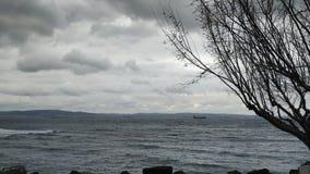 Nublado cubierto un día imagen de archivo libre de regalías