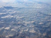 Nublado mullido Foto de archivo libre de regalías