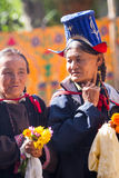NUBRA, INDIA-SEPTEMBER 6 :拉达克人6日2011年在Nubra,印度 免版税库存照片