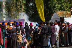 NUBRA, INDIA-SEPTEMBER 6 :拉达克人6日2011年在Nubra,印度 图库摄影