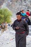 NUBRA, INDE 5 SEPTEMBRE : Personnes 5, 2011 de Ladakh dans Nubra, Inde Photographie stock