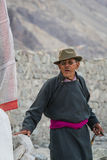 NUBRA, INDE 5 SEPTEMBRE : Personnes 5, 2011 de Ladakh dans Nubra, Inde Photos stock