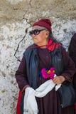 NUBRA, INDE 6 SEPTEMBRE : Personnes 6, 2011 de Ladakh dans Nubra, Inde Images stock