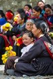 NUBRA, INDE 6 SEPTEMBRE : Personnes 6, 2011 de Ladakh dans Nubra, Inde Photographie stock libre de droits