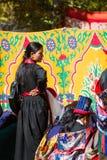 NUBRA, INDE 6 SEPTEMBRE : Personnes 6, 2011 de Ladakh dans Nubra, Inde Photos libres de droits