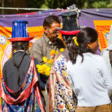 NUBRA, INDE 6 SEPTEMBRE : Personnes 6, 2011 de Ladakh dans Nubra, Inde Photos stock