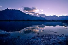 Nubra valley Stock Image