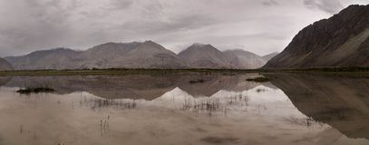 Nubra valley Royalty Free Stock Photo
