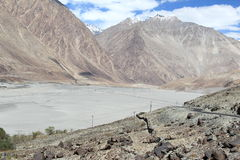Nubra valley. Royalty Free Stock Photography