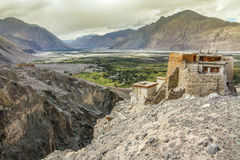 Nubra Valley and Diskit Monastery-Ladakh, India Royalty Free Stock Photography