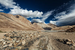 Nubra valley in Himalayas. Ladakh, India Royalty Free Stock Photography