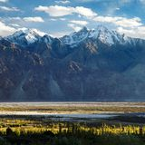 Nubra valley - Indian himalayas - Ladakh - India Stock Image