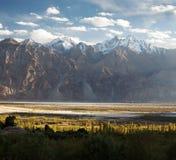 Nubra valley - Indian himalayas - Ladakh Stock Photo