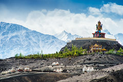 Nubra Valley in Ladakh, Royalty Free Stock Images
