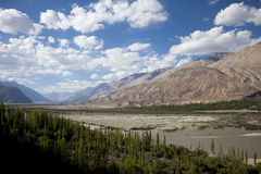 Nubra valley Royalty Free Stock Image