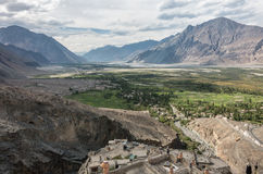 Nubra vally Royaltyfri Foto