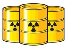 Nucléaire illustration de vecteur