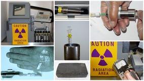 Nucleaire geneeskundetechnologie Stock Afbeeldingen