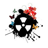 Nuclear abstract Stock Photography