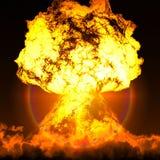 Nuclear alarm Royalty Free Stock Photos