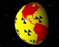 Nuclear america brasil Royalty Free Stock Photo